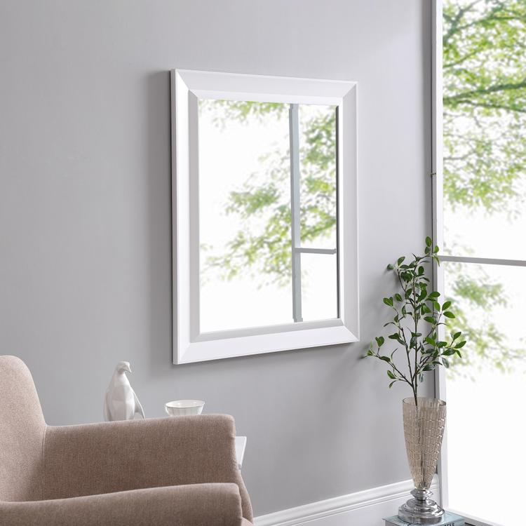 Naomi Home Framed Bevel Wall Mirror