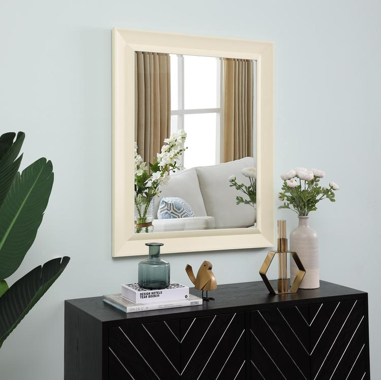 Naomi Home Framed Bevel Wall Mirror [Item # 67214]