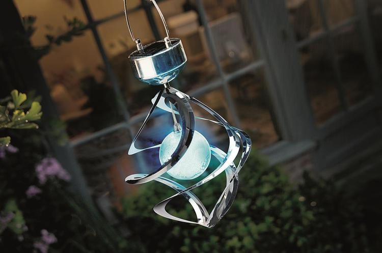 Cole and Bright WINDSPINNER GALAXY SOLAR LIGHT