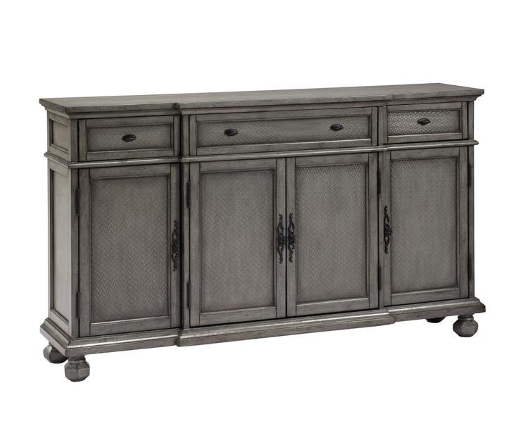 Coast to Coast Three Drawer 4 Door Credenza