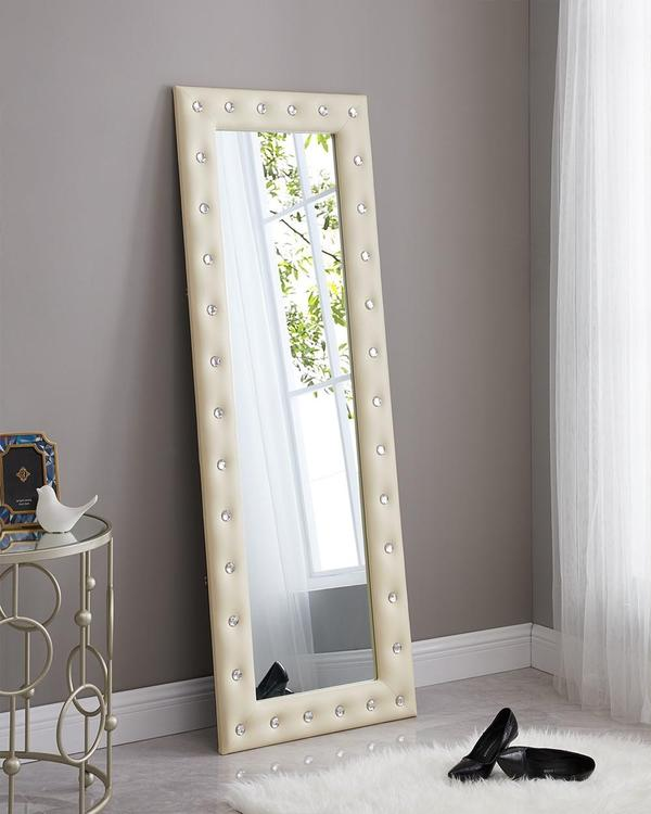 Naomi Home Crystal Tufted Mirror [Item # 68136]