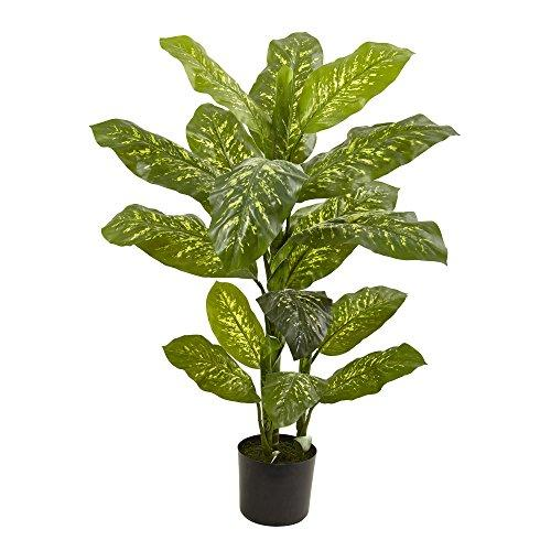 Nearly Natural 4? Dieffenbachia Plant (Real Touch)
