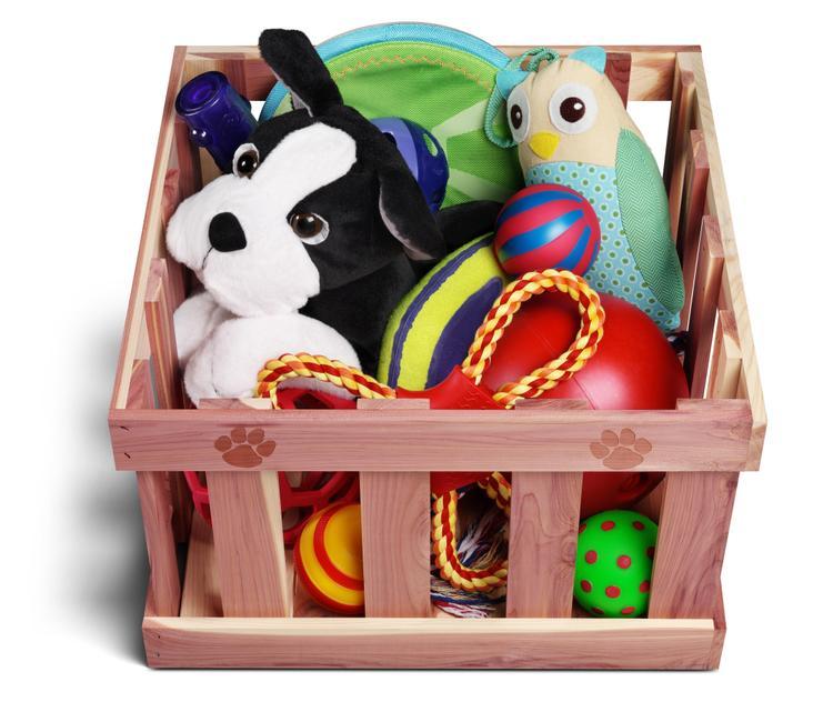 Woodlore Pet Large Toy Box