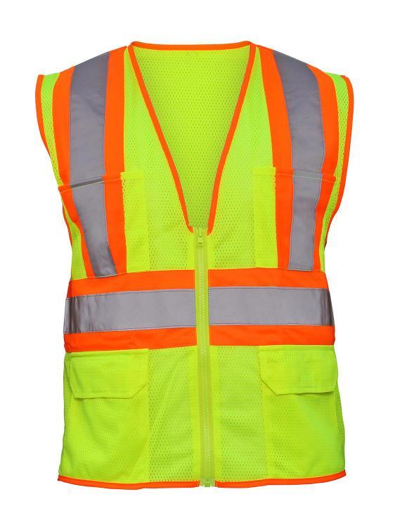 690-2110 Safty Vest Hiviz Xlg [Item # 690-2110]