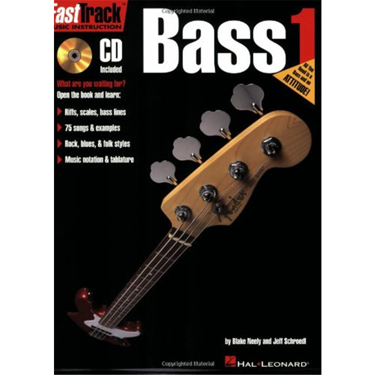Fasttrack Bass Meth1 Bk/cd