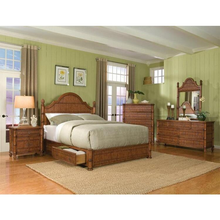 Thomastown 6 Piece Platform Storage Bedroom Set, Size Queen