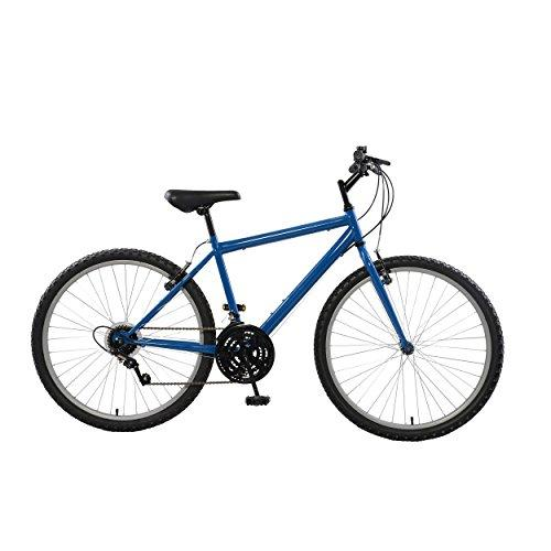 Rigid Mountain Bike, 26 inch wheels, 18 inch frame, Men's Bike, Blue
