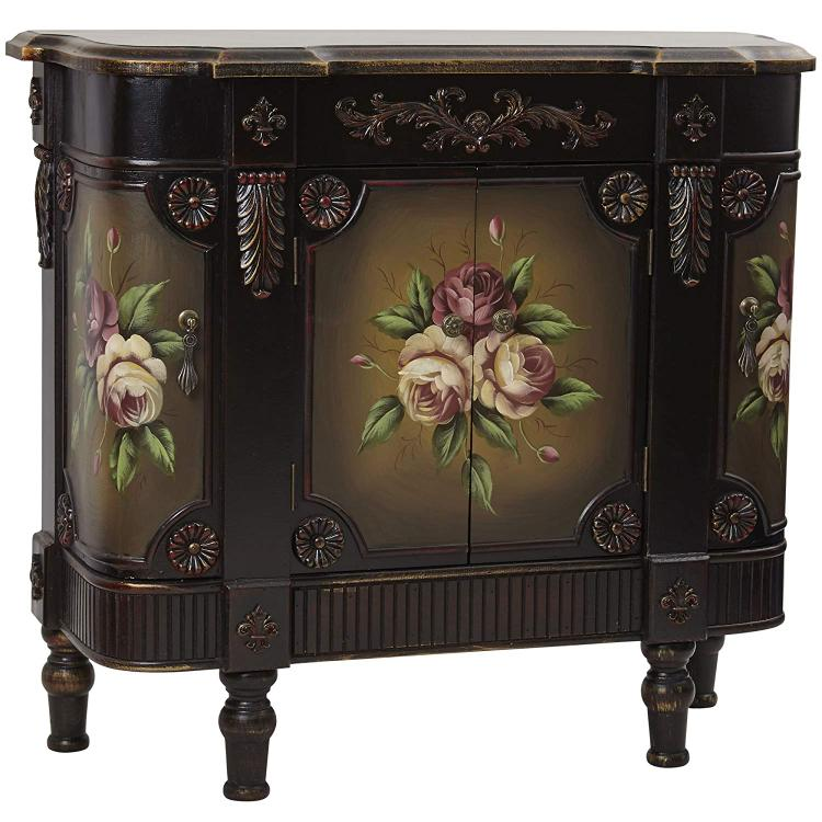French Vintage Style Floor Cabinet [Item # 7014C]
