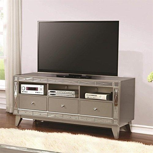 Coaster Transitional Mercury Television Console