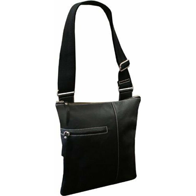 Slim Cross-Body Messenger Bag - [701-0]