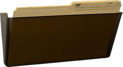 Storex Wall File, Legal Size, Smoke, 6-Pack