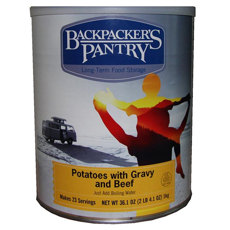 Potatoes & Gravy & Beef Can
