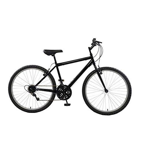 Rigid Mountain Bike, 26 inch wheels, 18 inch frame, Men's Bike, Black