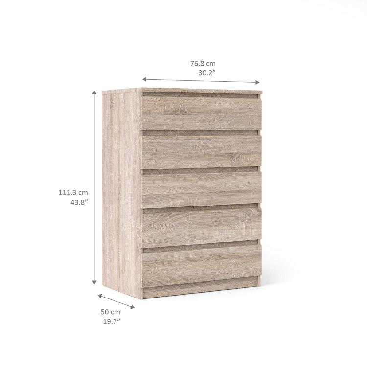 Tvilum Scottsdale 5 Drawer Chest - [70297cjcj]