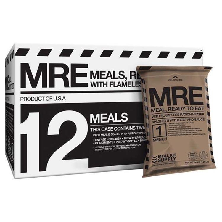 Mre 3 Course Premium Meals