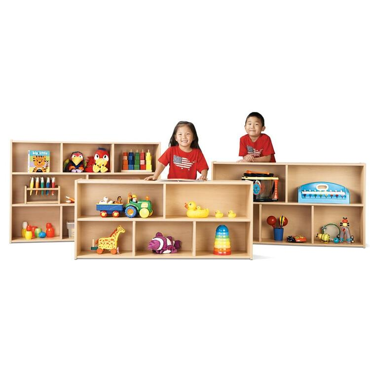 Young Time® Toddler Two Shelf Storage