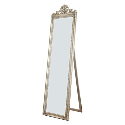Milton Green Stars Gisela Full Length Standing Mirror with Decorative Design, Champagne