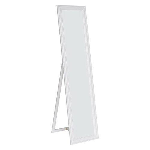 Milton Green Stars Elisabetta Full Length Standing Mirror with Decorative Design, White