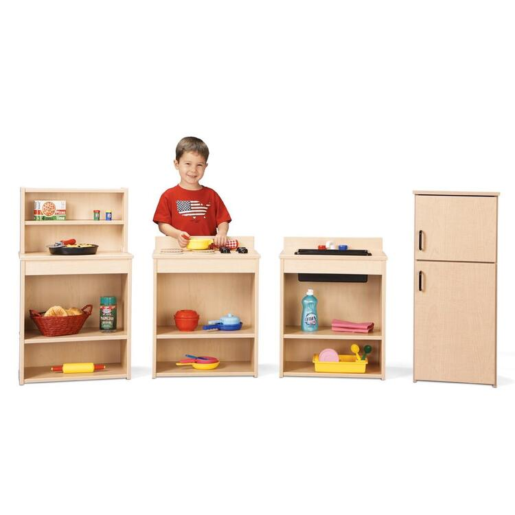 Young Time® Play Kitchen 4 Piece Set