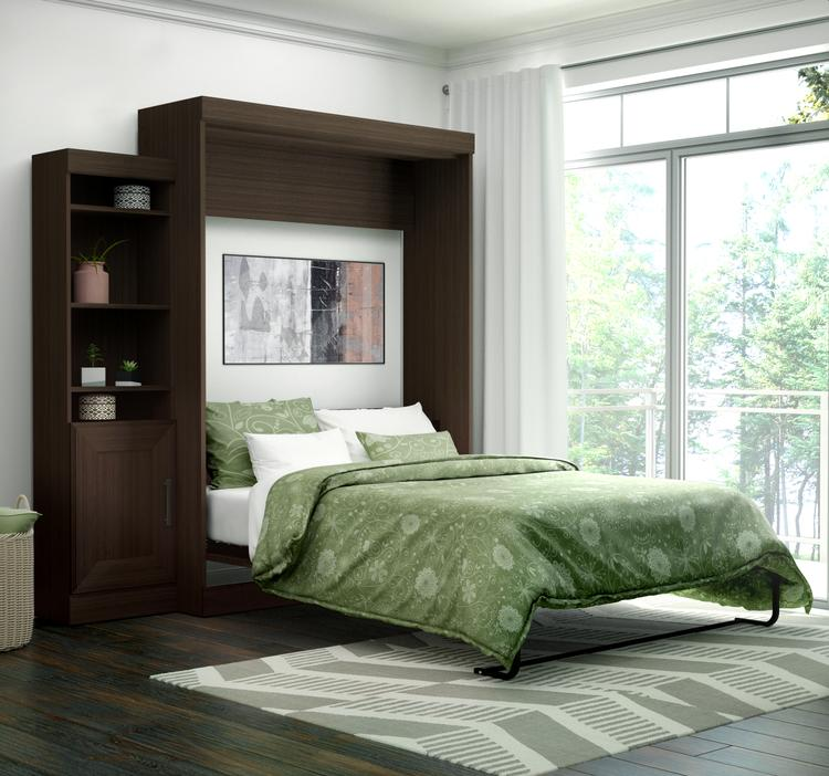 Edge by Bestar Queen Wall Bed with one 21