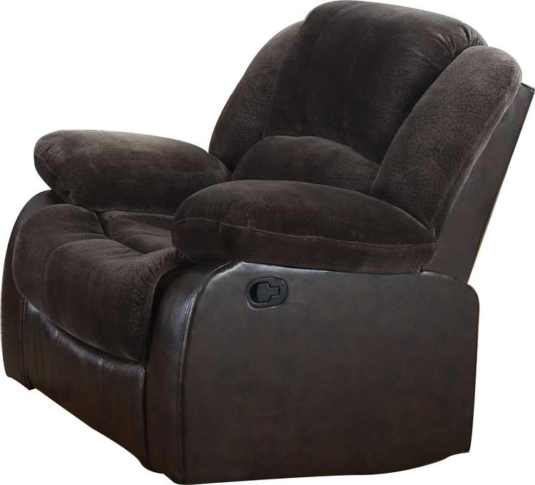 Nathaniel Home Champion & Pu Recliner