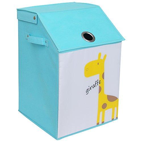 WC Redmon KIDS SAFARI Flip Top Nursery Hamper