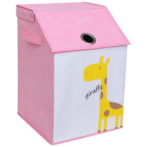 WC Redmon KIDS SAFARI Flip Top Nursery Hamper [Item # 7100PK]