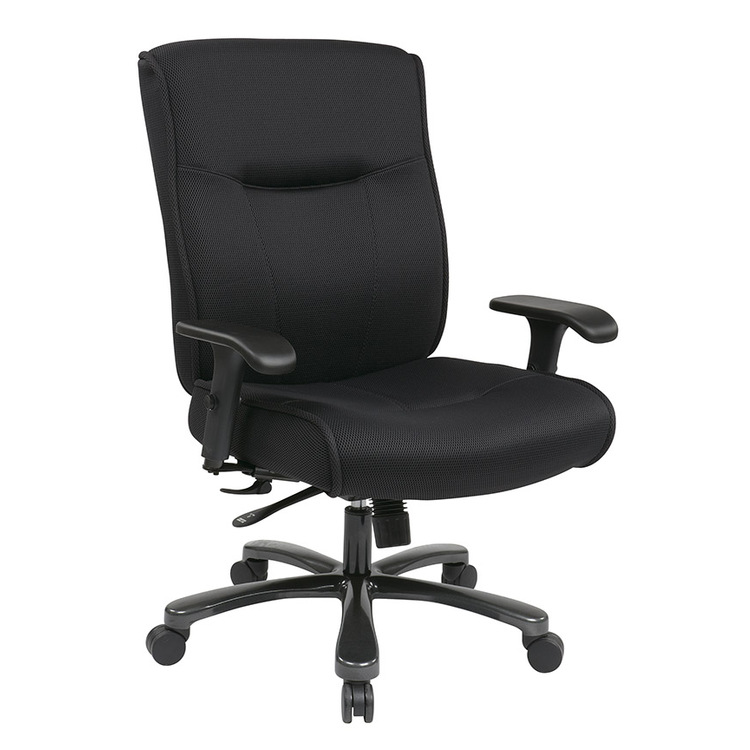 Big & Tall Deluxe Executive Chair with Mesh Fabric