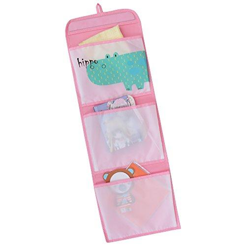 WC Redmon KIDS SAFARI Hippo Hanging Wall Pockets [Item # 7107PK]