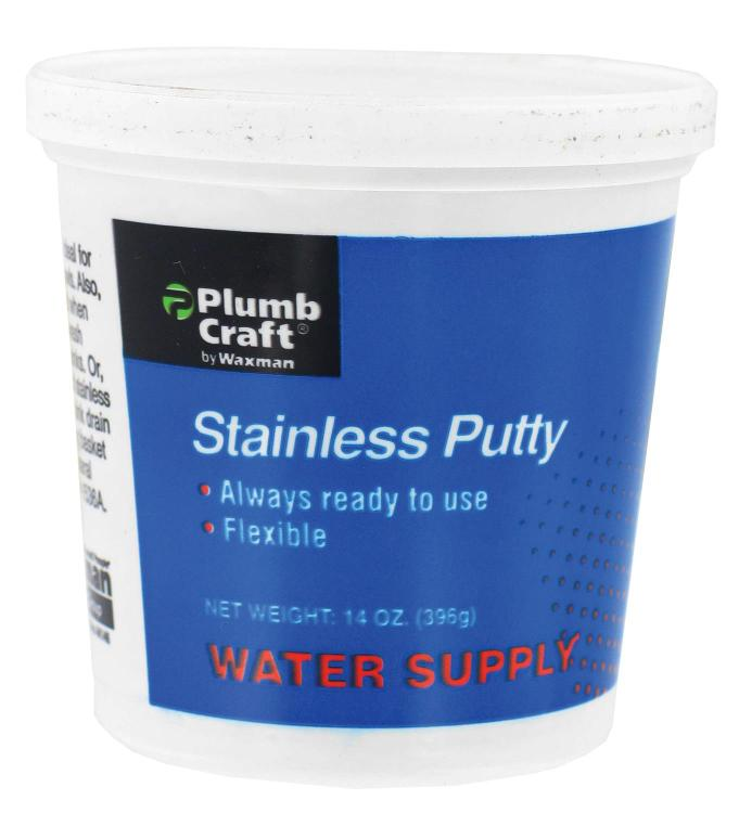7108500N Putty Stainless 14Oz