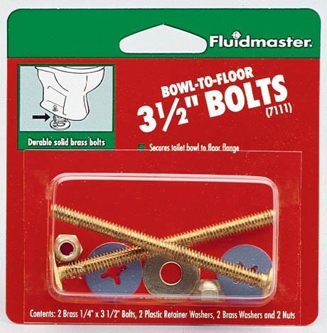 7111 Bolts T-Bowl 3-1/2