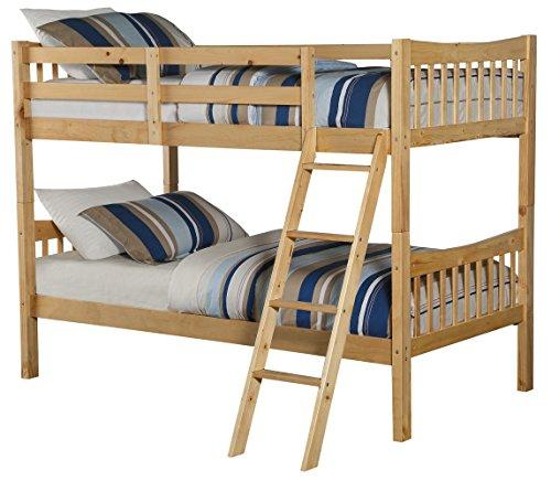 Angel Line Fremont Twin over Twin Bunk Bed