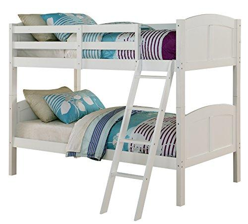 Angel Line Creston Twin over Twin Bunk Bed [Item # 71230-21]