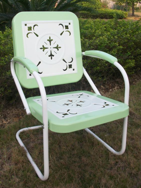 4D Concepts Metal Chair Retro