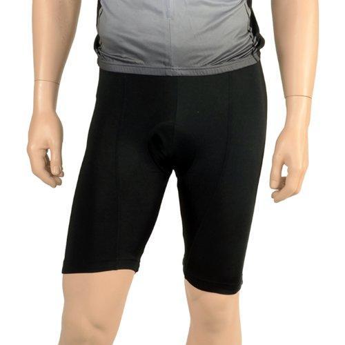 Triumph Unisex Black 8 Panel Cycling Shorts S