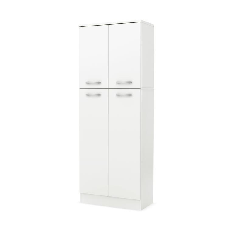 South Shore Axess 4-Door Storage Pantry