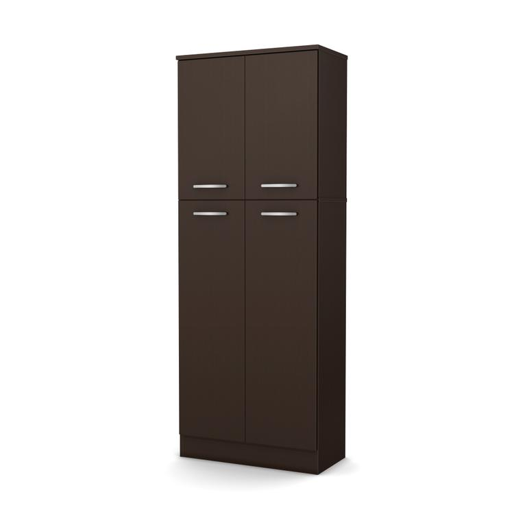 South Shore Axess 4-Door Storage Pantry
