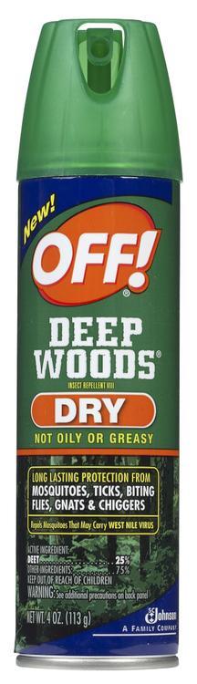 OFF!DEEP WOOD DRY4oz