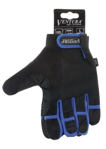 Blue Full Finger Touch Gloves in Size XL