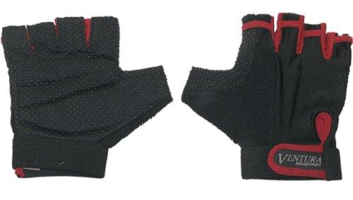 Red Touch Gloves in Size L