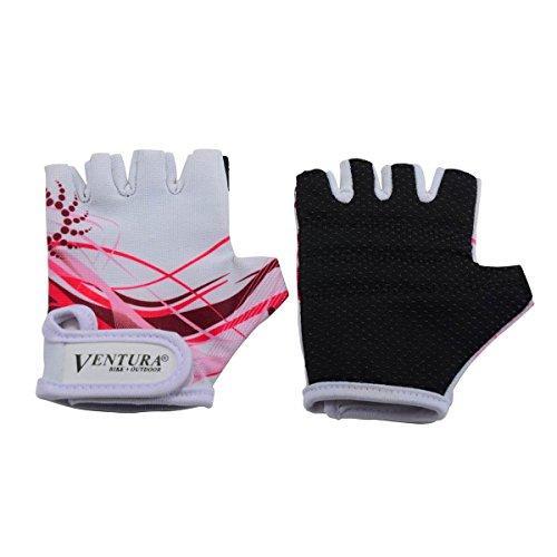 Children's Bike Gloves, XS, White