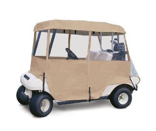 Classic Accessories Fairway Deluxe 4-Sided Golf Car Enclosure