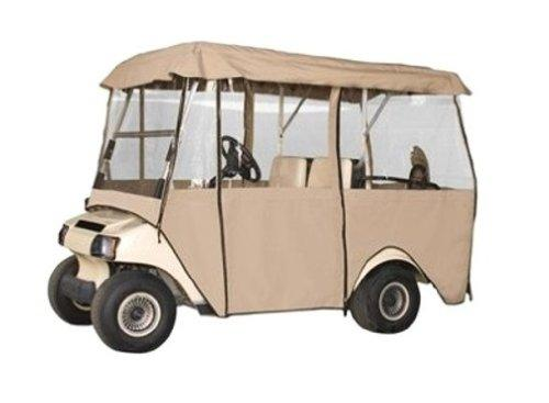 Classic Accessories Fairway Deluxe 4-Sided Passenger Golf Car Enclosure