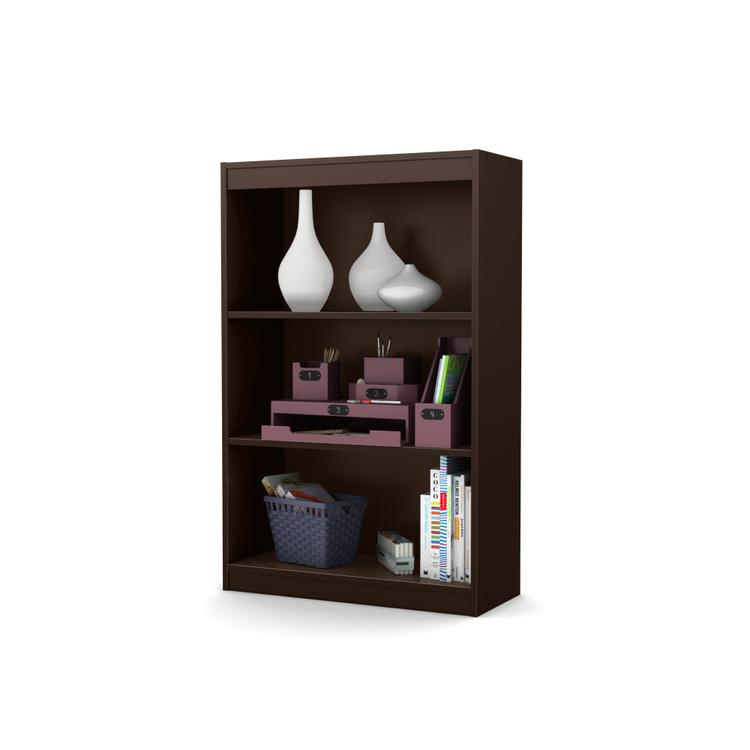 South Shore Axess 3-Shelf Bookcase