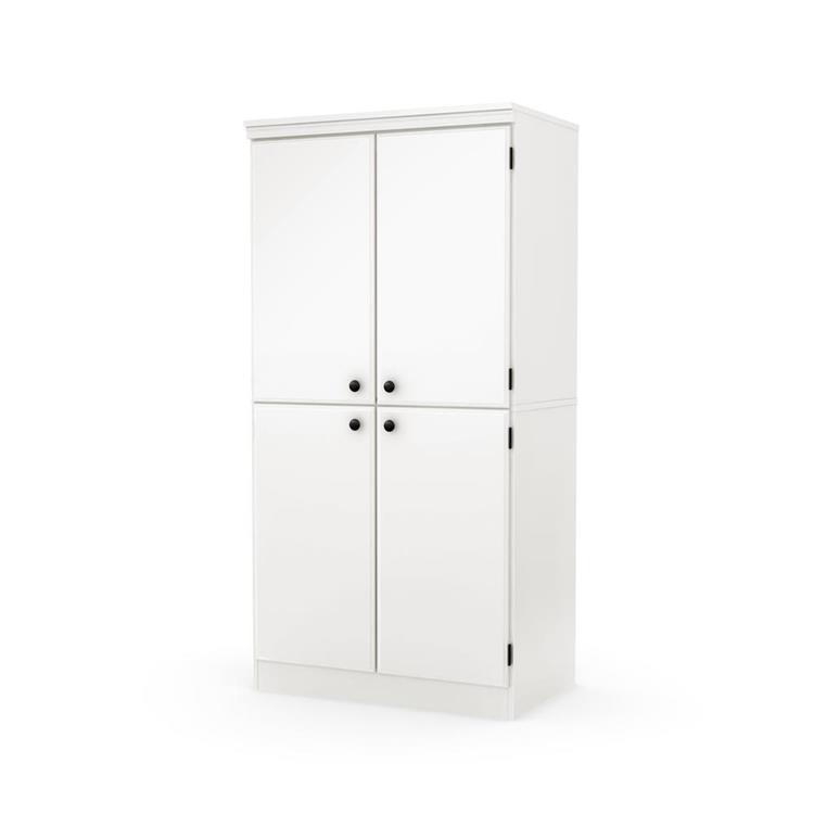 South Shore Morgan 4-Door Storage Cabinet
