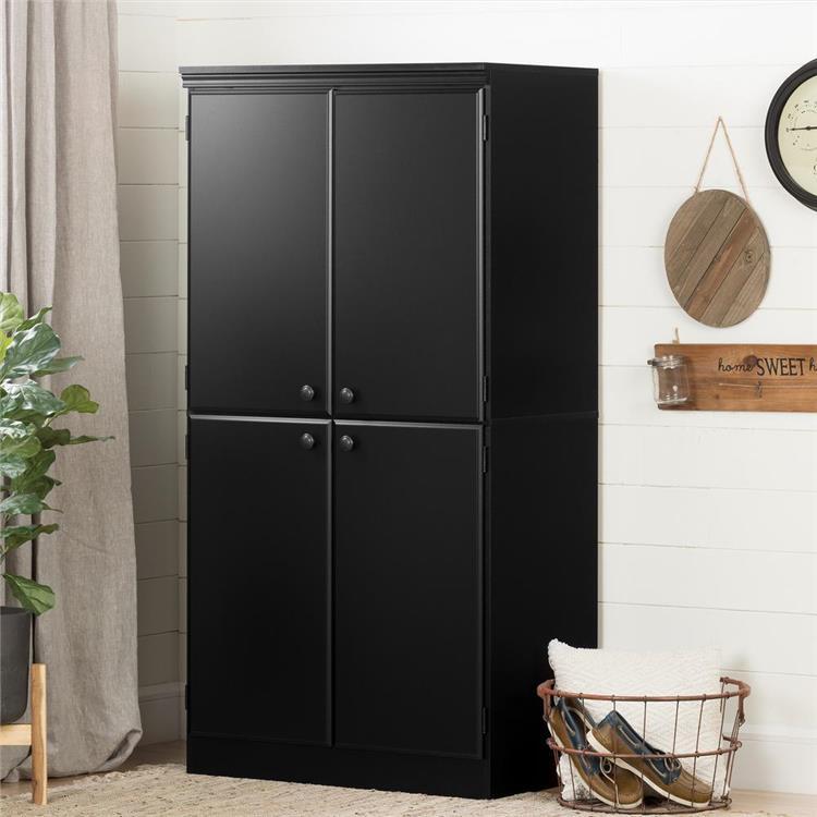 South Shore Morgan 4-Door Storage Cabinet