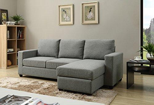 Convertible Sectional Gray