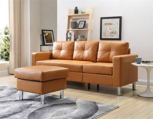 Small Space Convertible Sectional Sofa