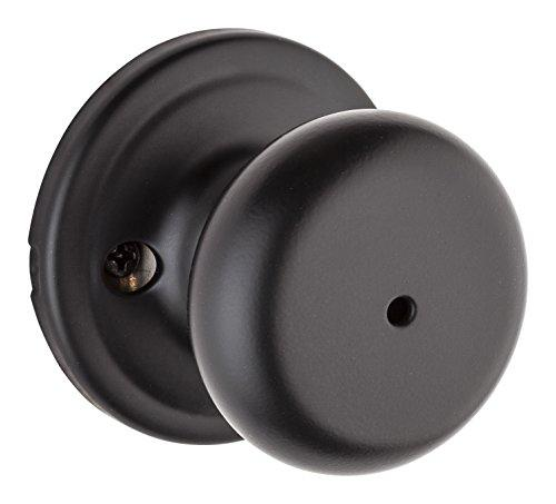 Kwikset 730H-514GC Hancock Privacy Door Lock Iron Black Finish with New Chassis [Item # 730H-514GC]
