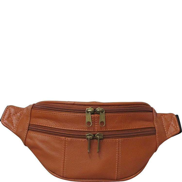 Amerileather Assorted Leather Fanny Packs [Item # 7310-3]